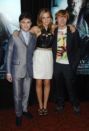 Daniel Radcliffe, Emma Watson y Rupert Grint, jóvenes multimillonarios