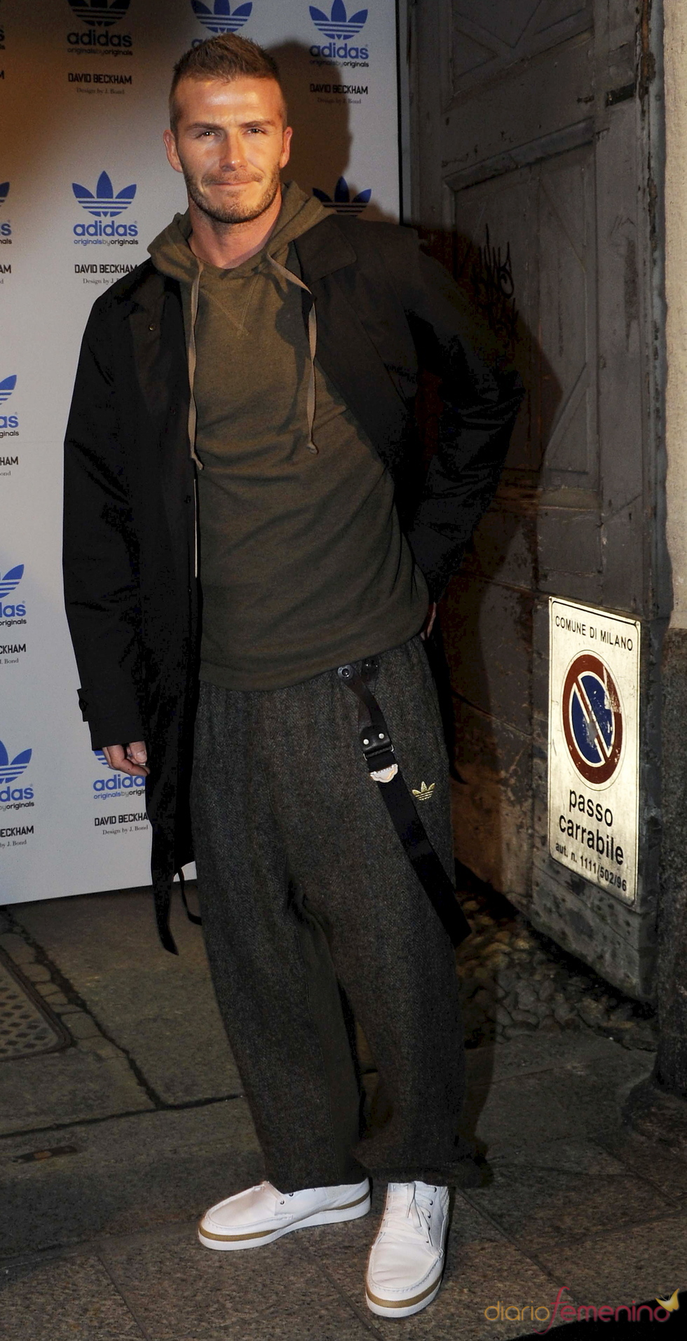 David Beckham, fiel a Adidas