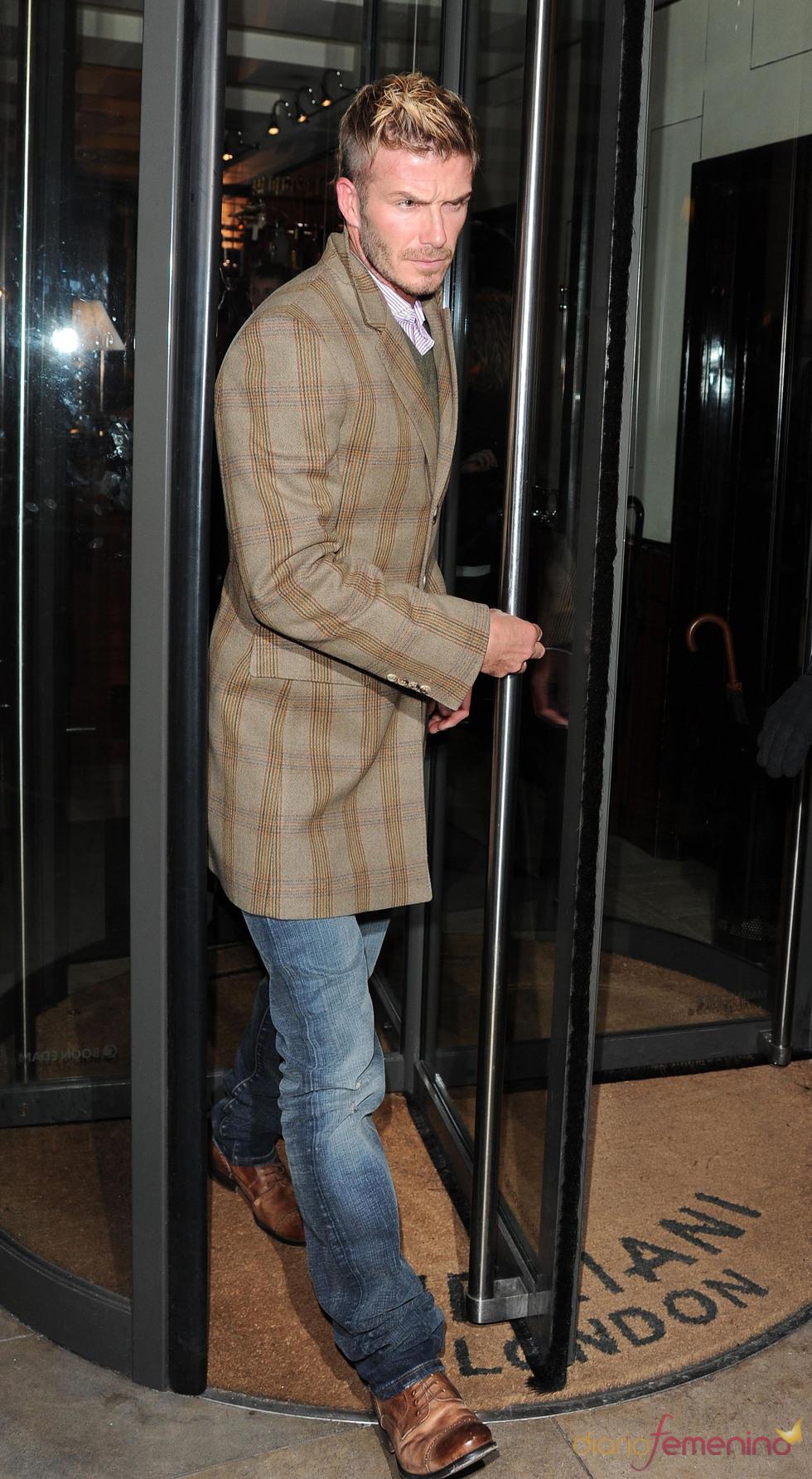 David Beckham al más puro estilo inglés