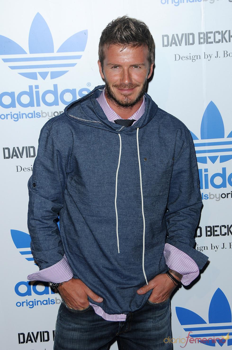 David Beckam, elegante hasta de sport