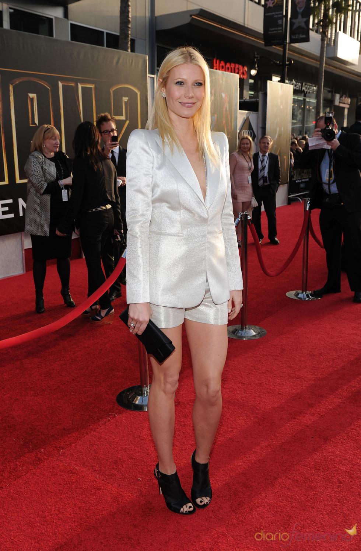 Gwyneth Paltrow en la premiere de 'Iron Man 2'