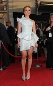 Scarlett Johansson en la premiere de 'Iron Man 2'