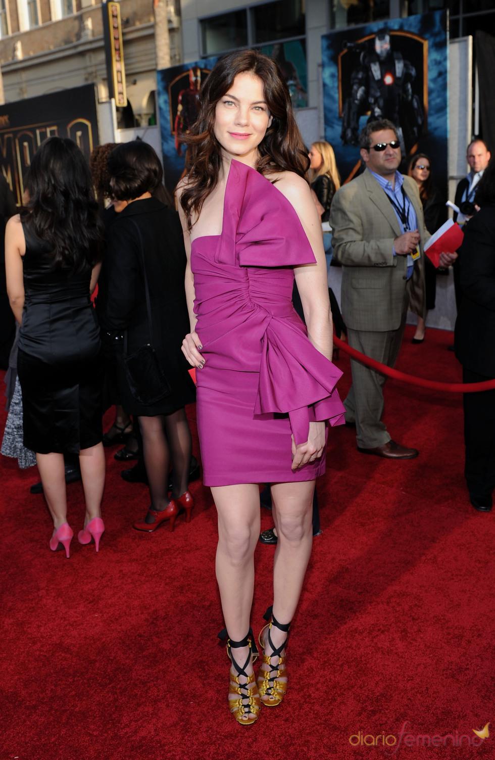 Michelle Monaghan en la premiere de 'Iron Man 2'