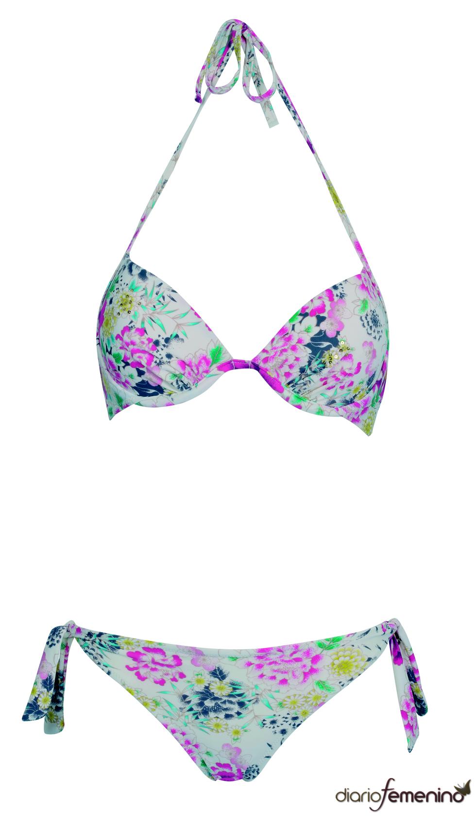 Bikini estilo 'flower power'