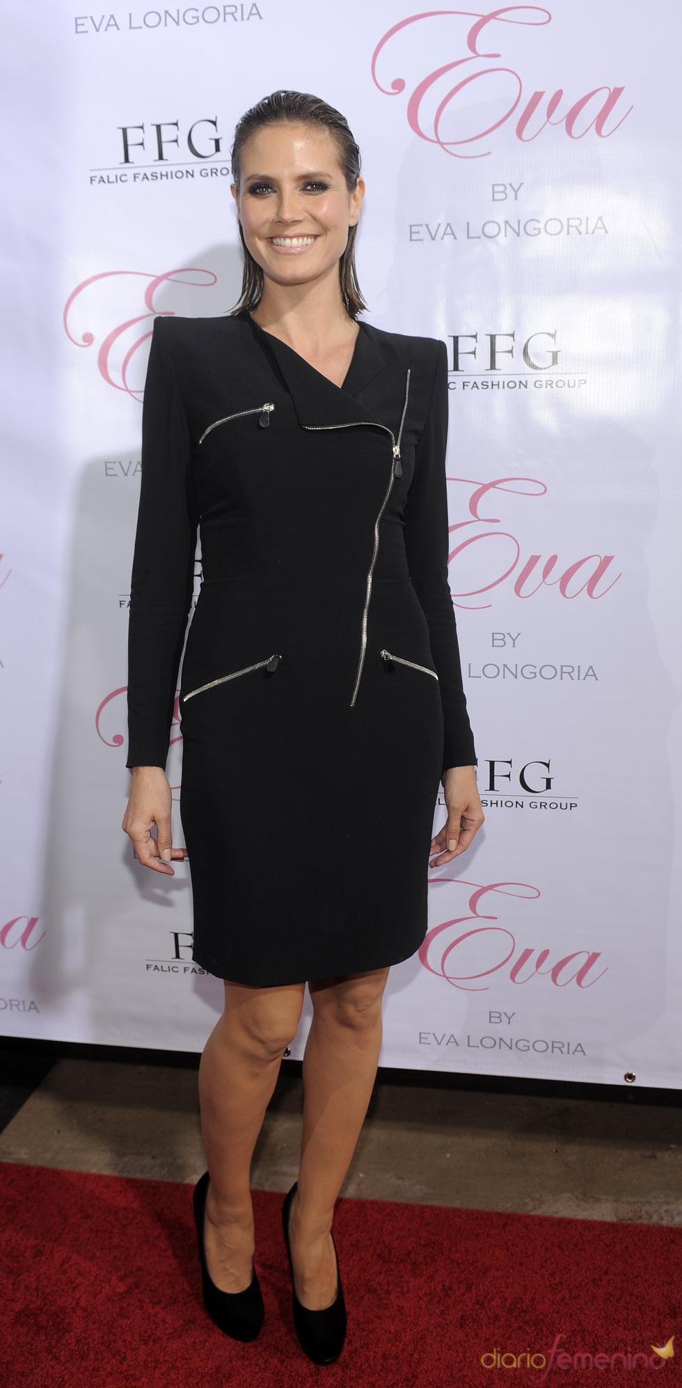 Heidi Klum en la presentación del permume 'Eva'