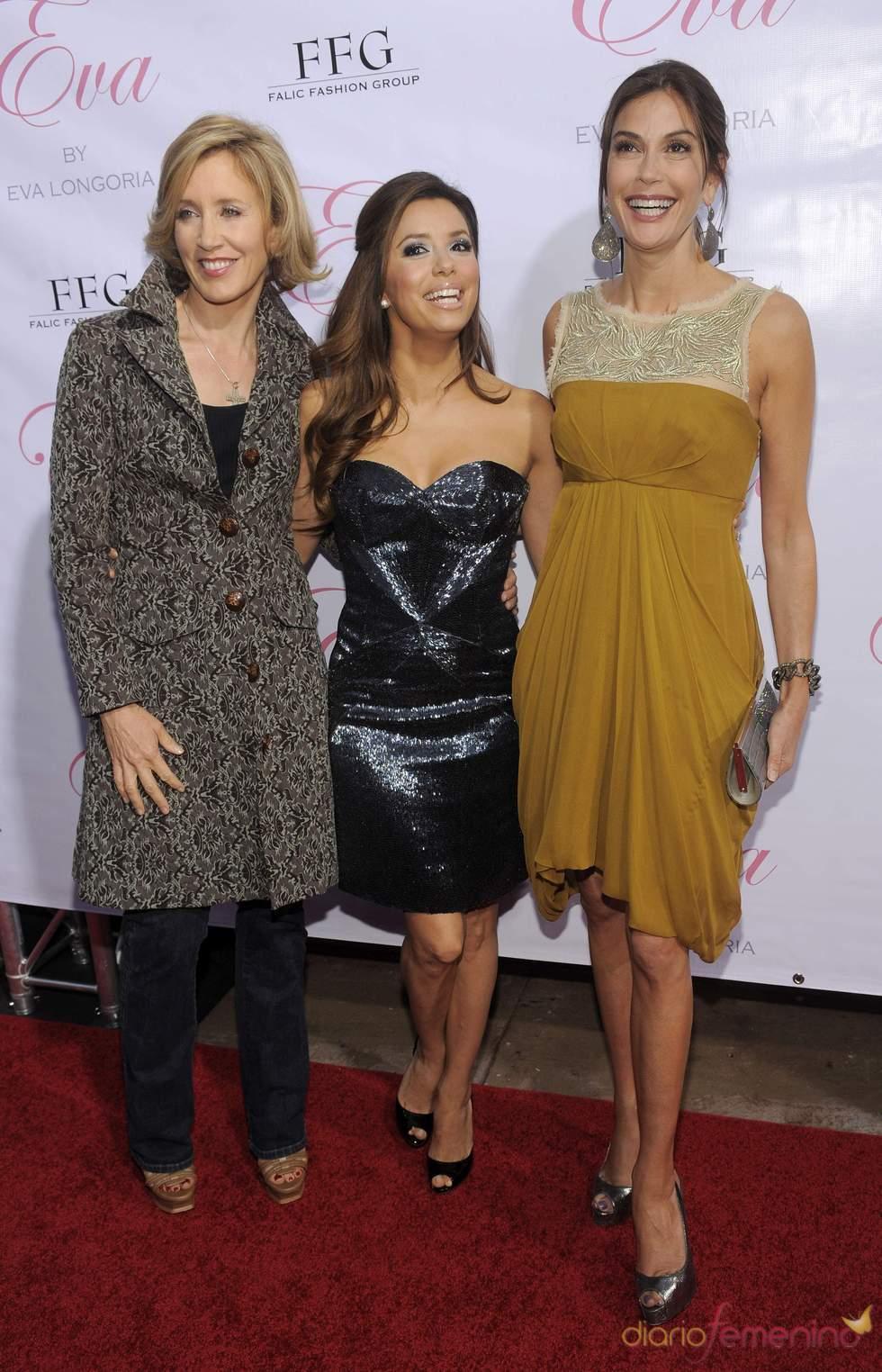 Las actrices de 'Mujeres desesperadas' en el lanzamiento de la fragancia 'Eva'