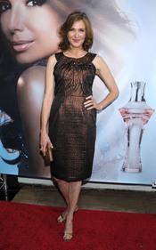 Brenda Strong en la presentación del permume 'Eva'