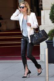 Bolso negro de Kate Moss