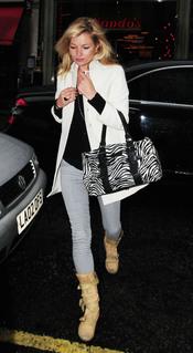 Bolso de cebra de Kate Moss