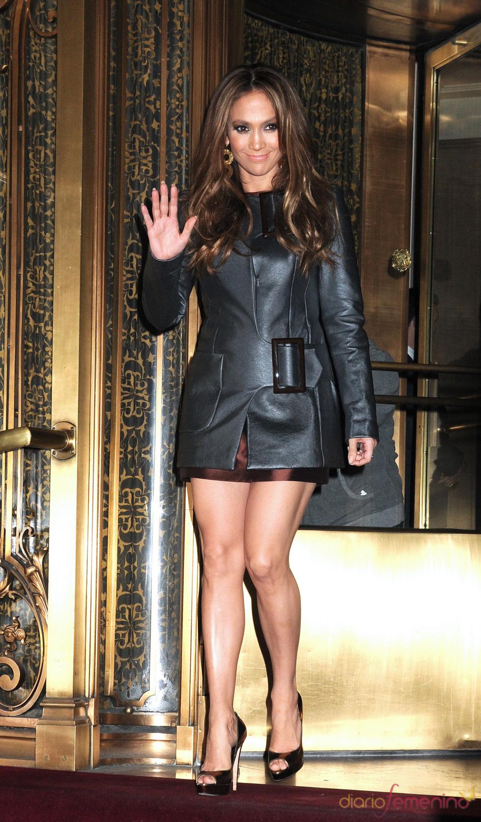 Jennifer Lopez, con mini conjunto