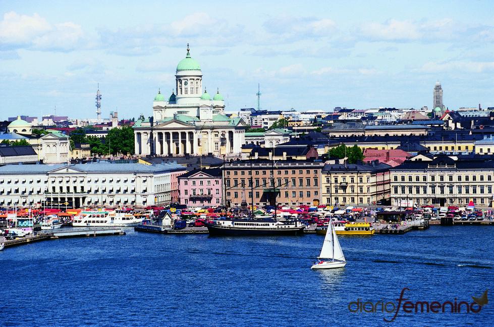 Vista panorámica de Helsinki
