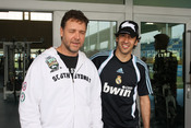 Russell Crowe con Raúl