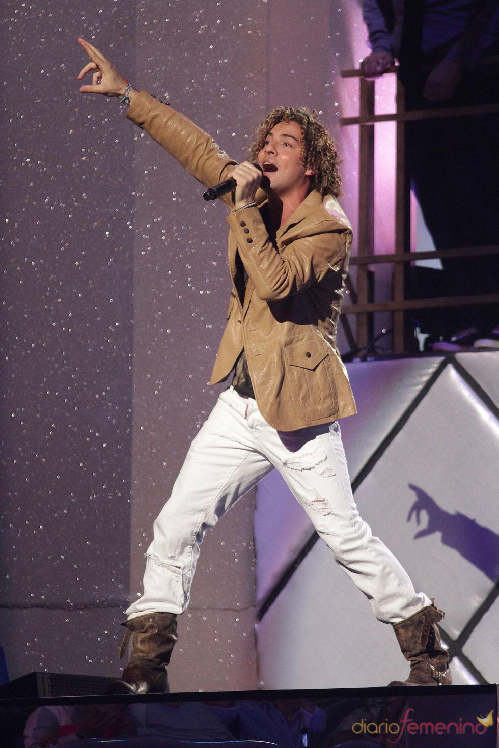 Actuación de David Bisbal en los Billboard Latinos