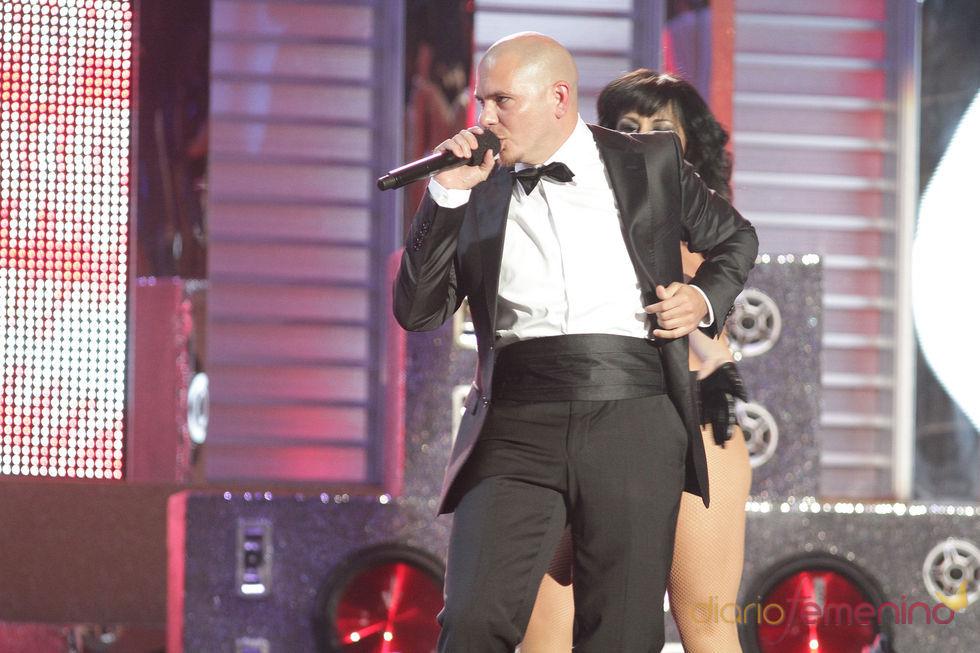 Actuación de Pitbull en los Billboard Latinos