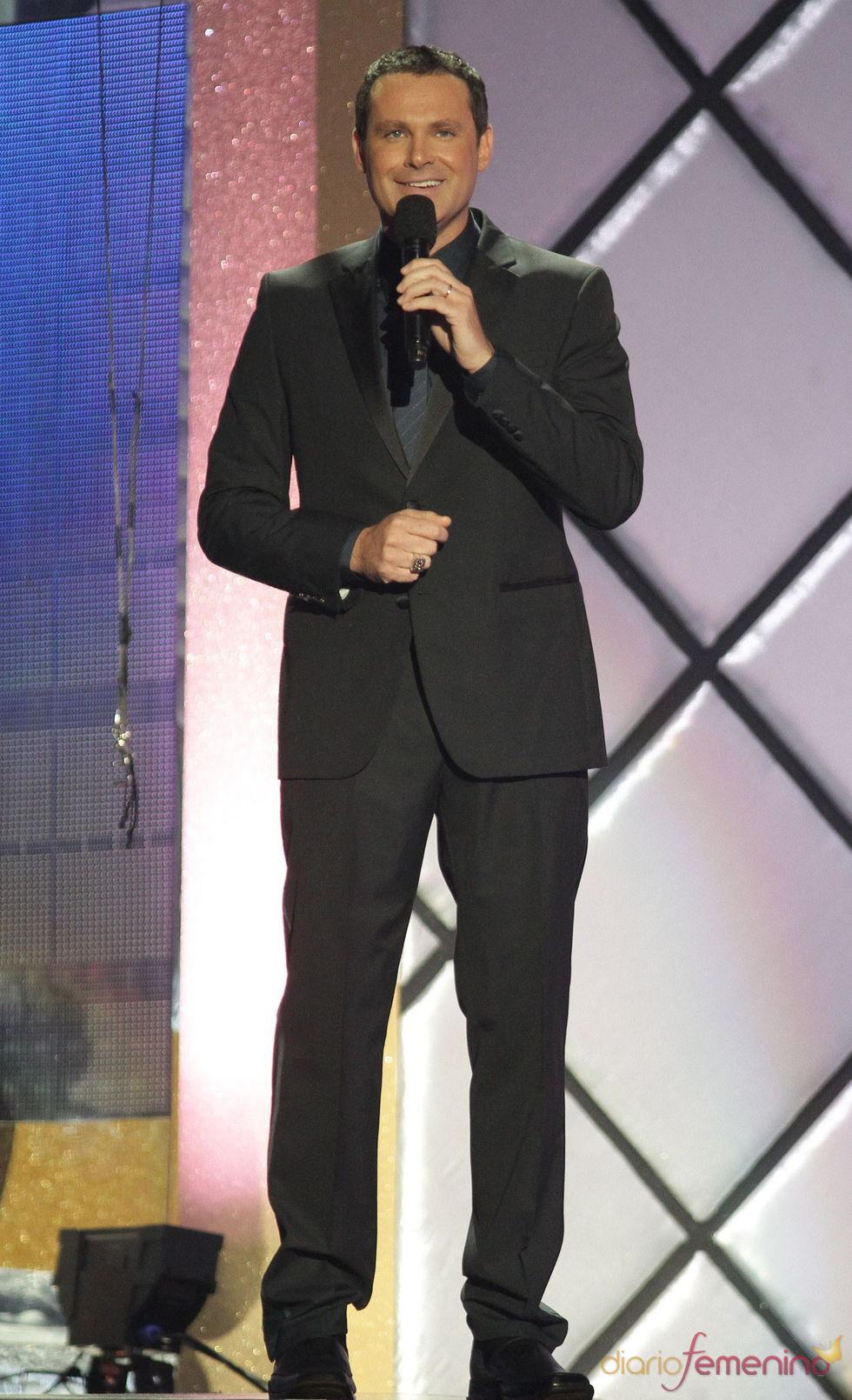 Alan Tacher, presentador de los billboard Latinos