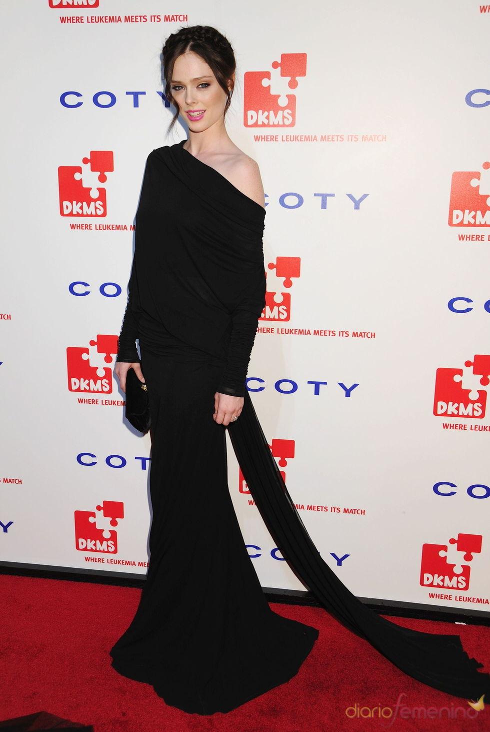 Coco Rocha en la gala 'Unidos contra la Leucemia'