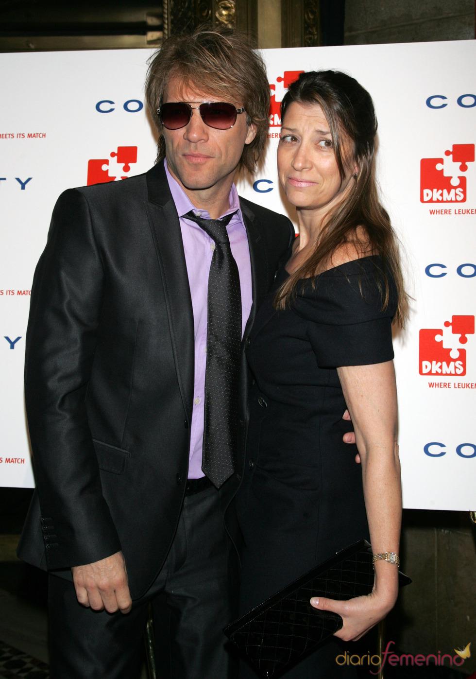 Jon Bon Jovi y su mujer contra la Leucemia