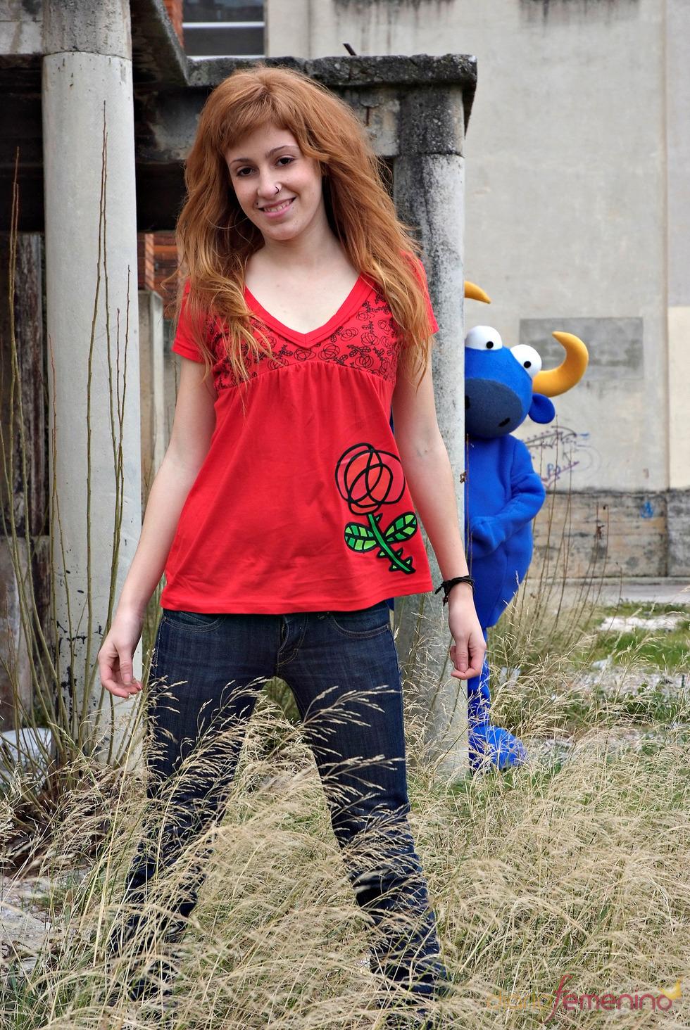 Camiseta con flor de Kukuxumusu