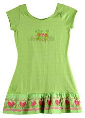 Vestido verde de Kukuxumusu