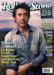 Robert Downey Jr. en 'Rolling Stone'