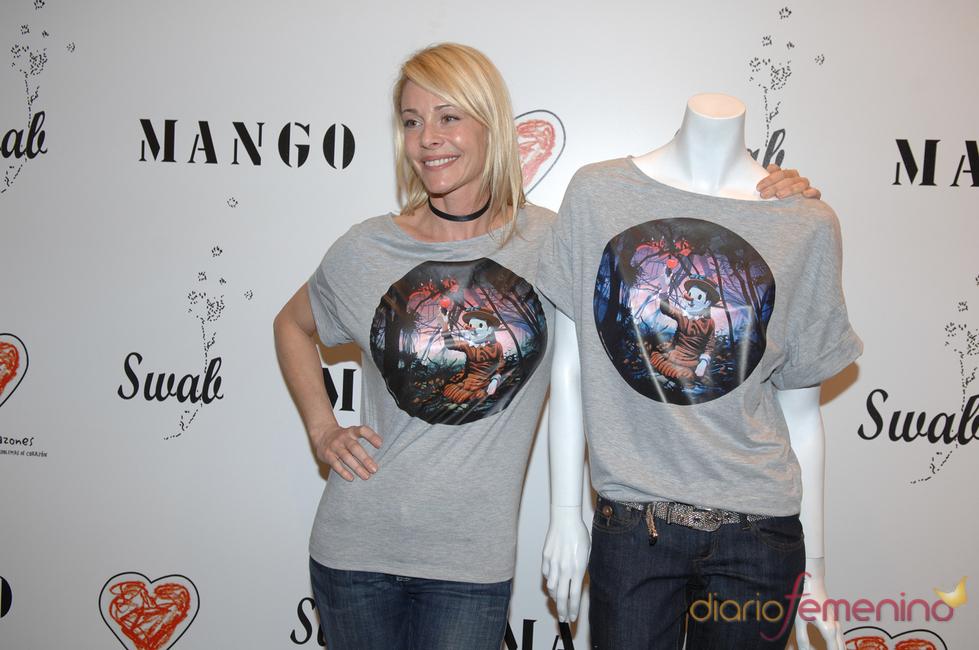 Belén Rueda, imagen de la camiseta 'Swab by Mango'