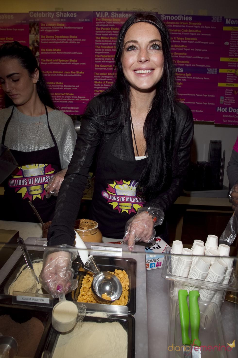 Lindsay Lohan en Millions of Milkshakes