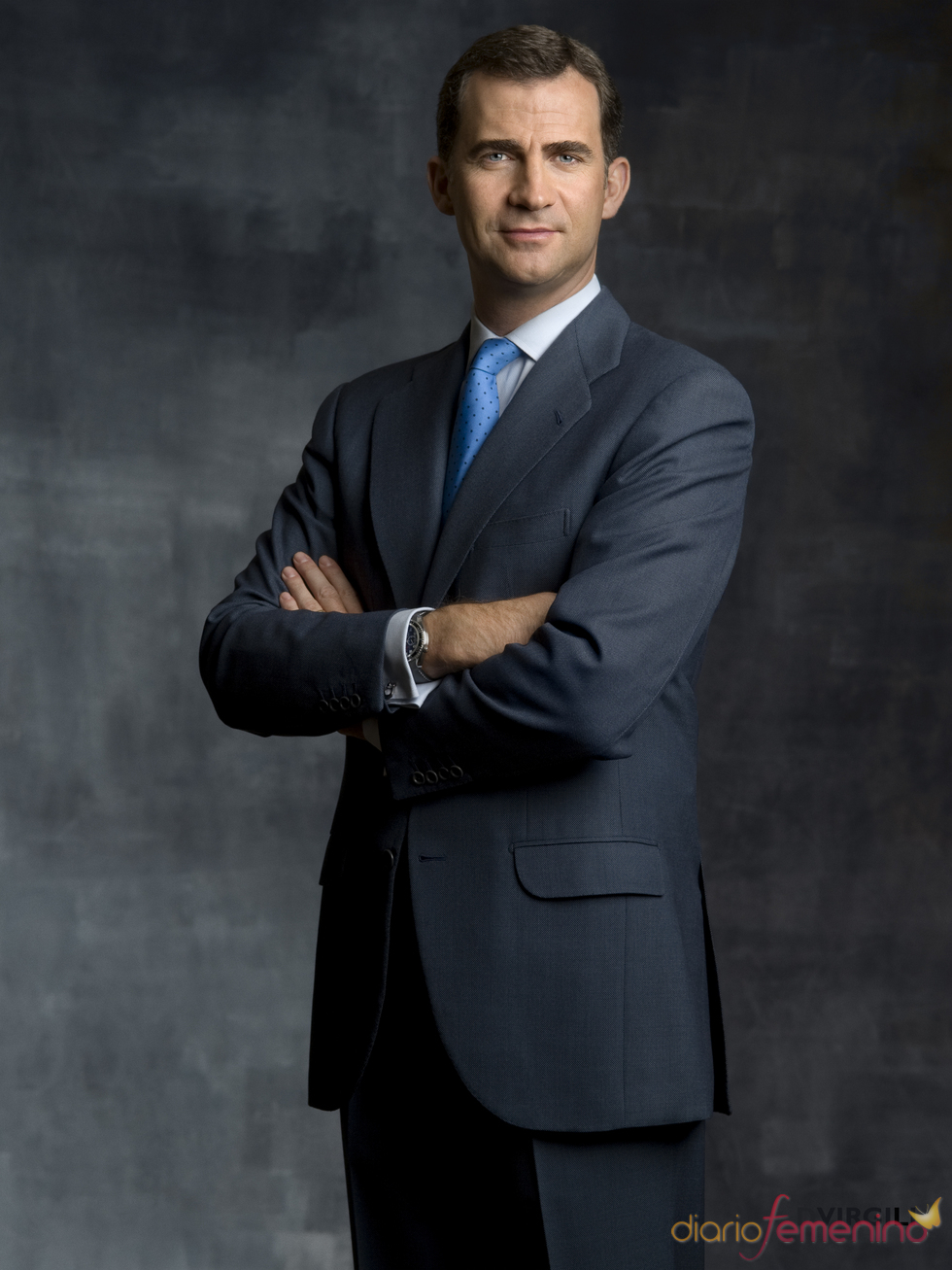 Fotografía oficial del Príncipe Felipe