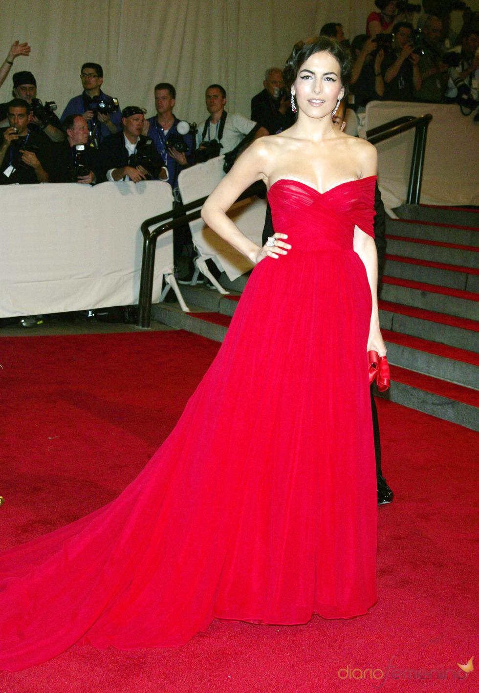 Camilla Belle en la gala del Costume Institute