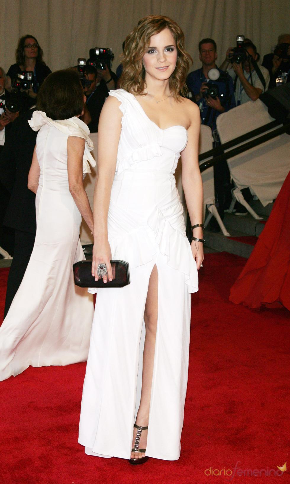 Emma Watson en la gala del Costume Institute