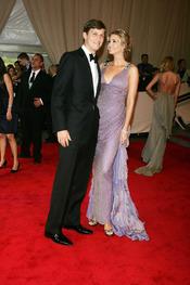 Ivanka Trump y Jared Kushner en la gala del Costume Institute