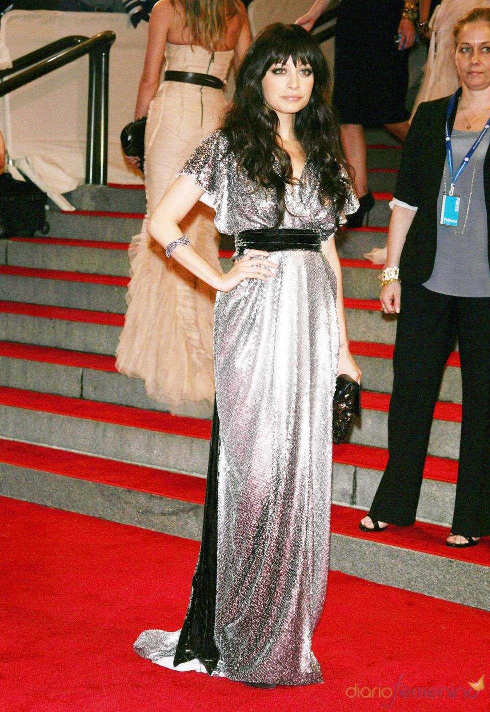 Nicole Richie en la gala del Costume Institute