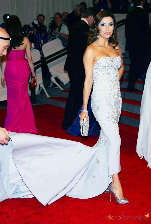 Eva Longoria en la gala del Costume Institute