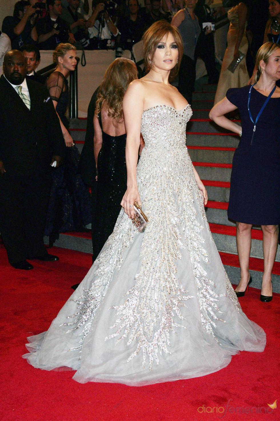 Jennifer Lopez en la gala del Costume Institute