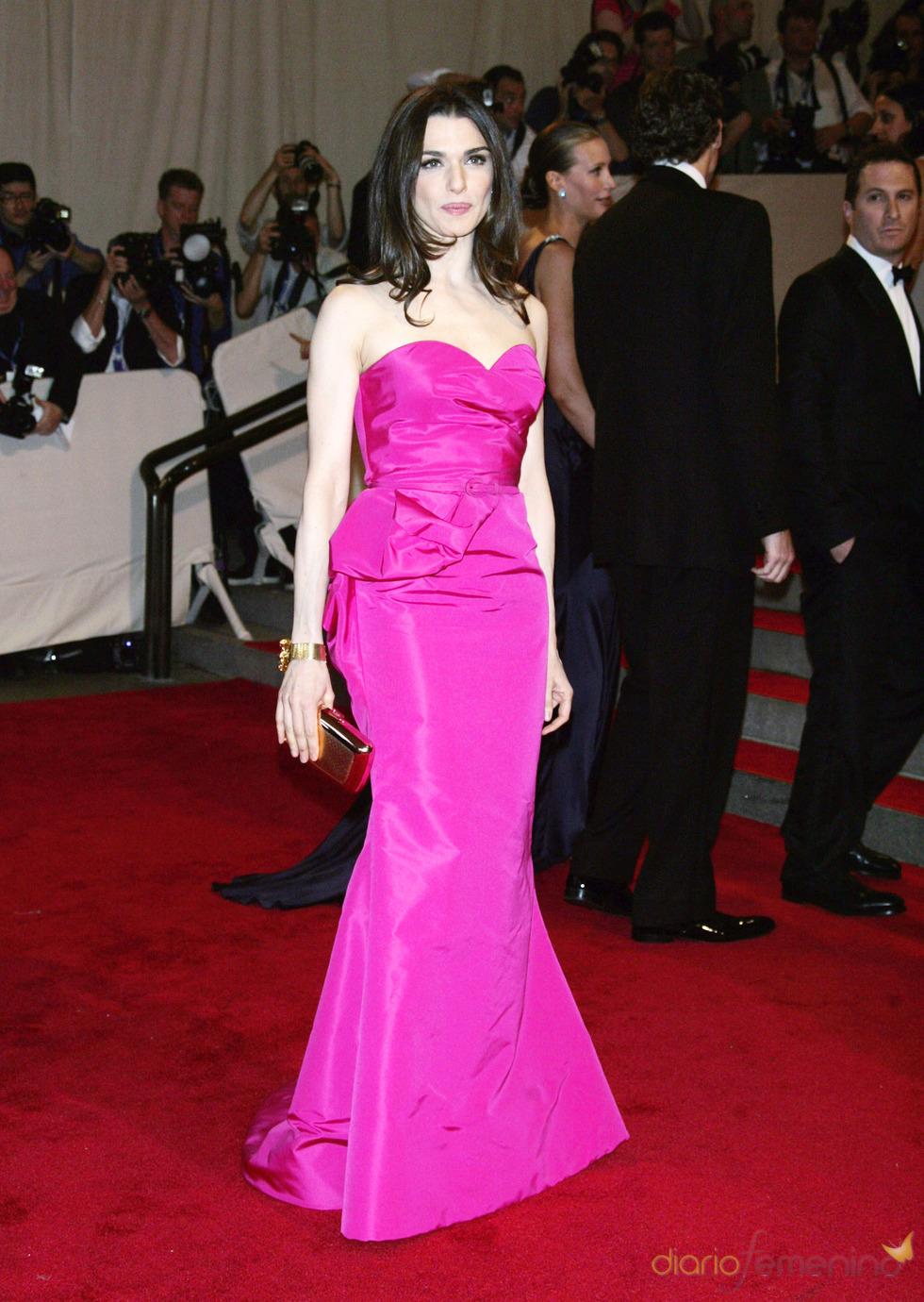 Rachel Weisz en la gala del Costume Institute