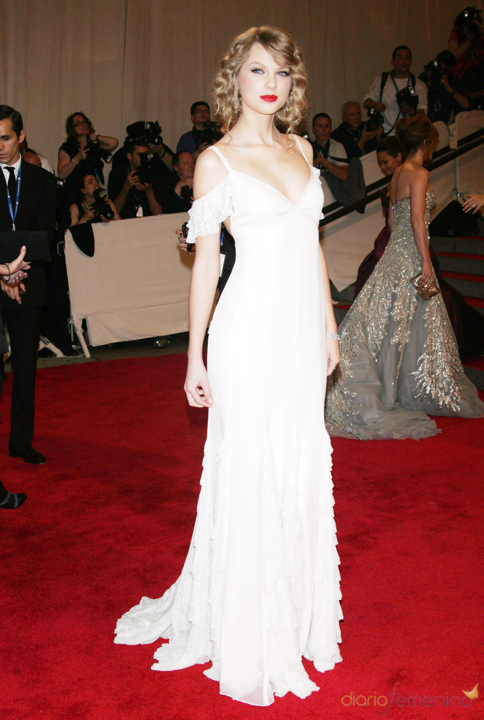 Taylor Swift en la gala del Costume Institute
