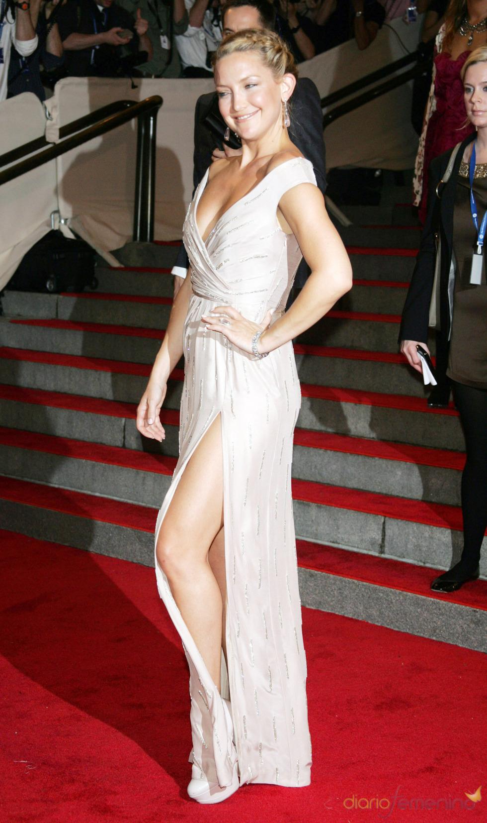 Kate Hudson en la gala del Costume Institute