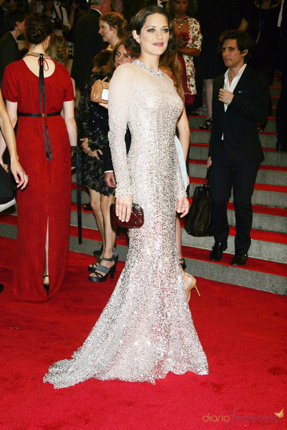 Marion Cotillard en la gala del Costume Institute