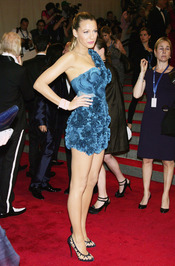 Blake Lively en la gala del Costume Institute