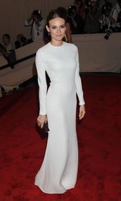 Diane Kruger en la gala del Costume Institute