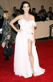 Katy Perry en la gala del Costume Institute