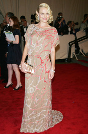 Kate Bosworth en la gala del Costume Institute