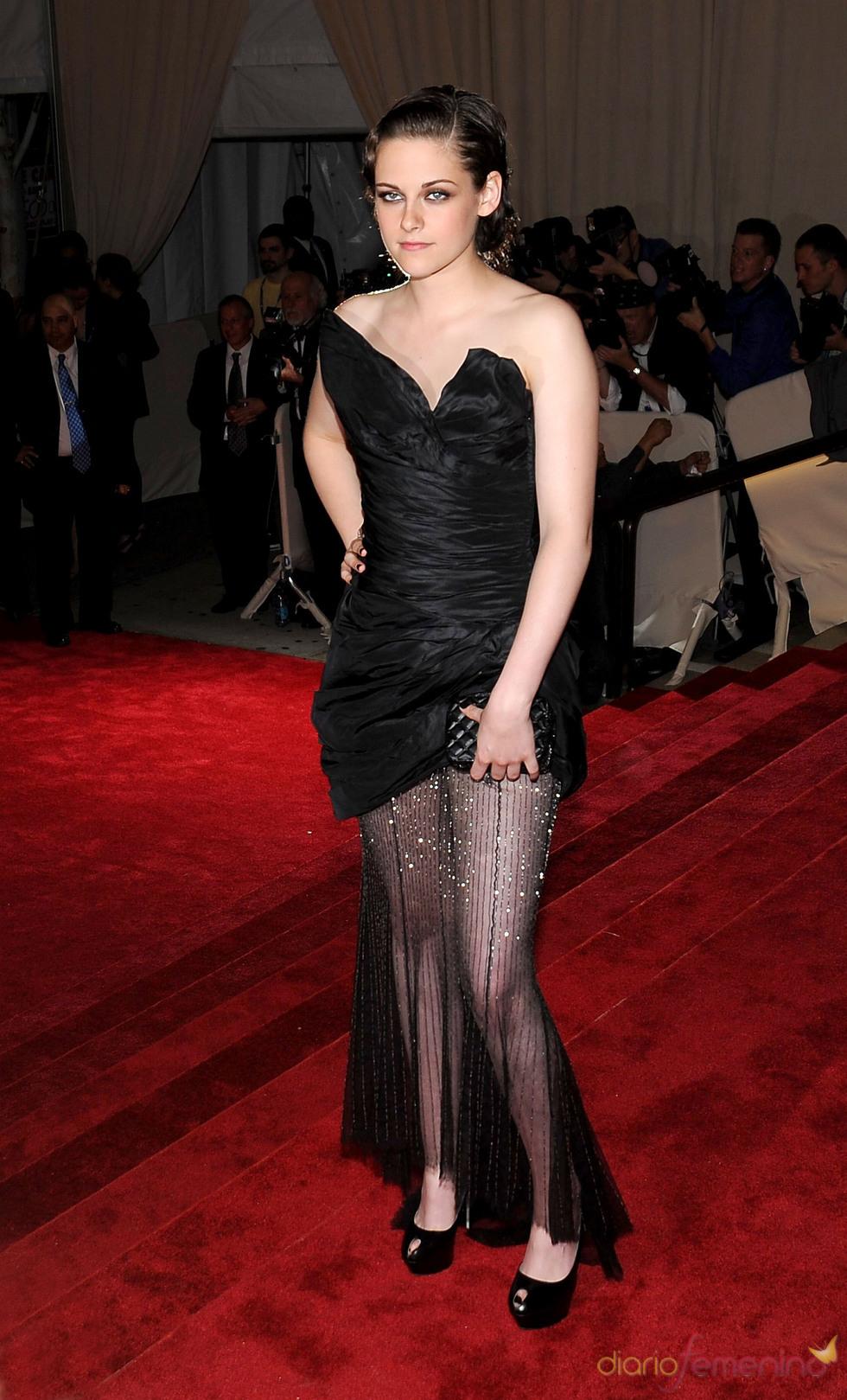 Kristen Stewart en la gala del Costume Institute