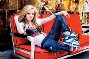 Colección rockera de Avril Lavigne