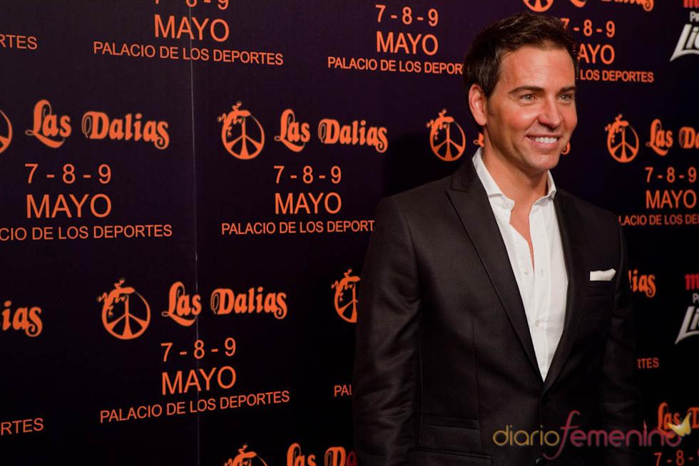 David Meca en la presentación del mercadillo de Las Dalias en Madrid