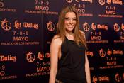 Lucía Hoyos da la bienvenida al mercadillo de Las Dalias