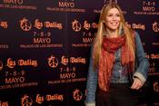 Raquel Meroño en la presentación del mercadillo de Las Dalias en Madrid