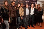 Famosos en la presentación del mercadillo de Las Dalias en Madrid