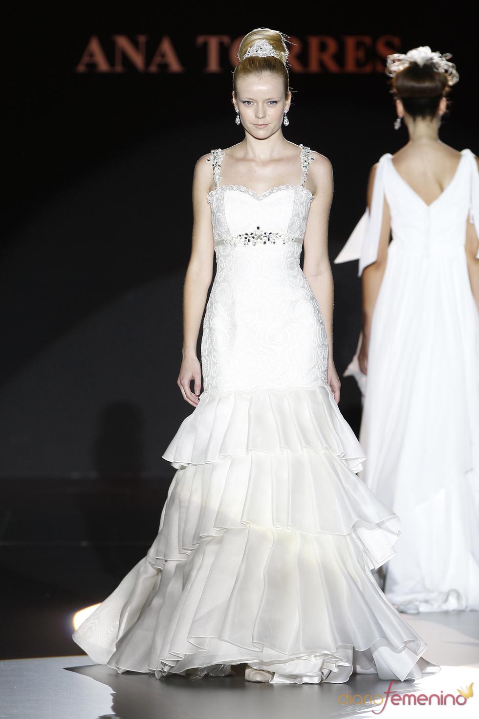 Vestido estilo sevillana de Ana Torres