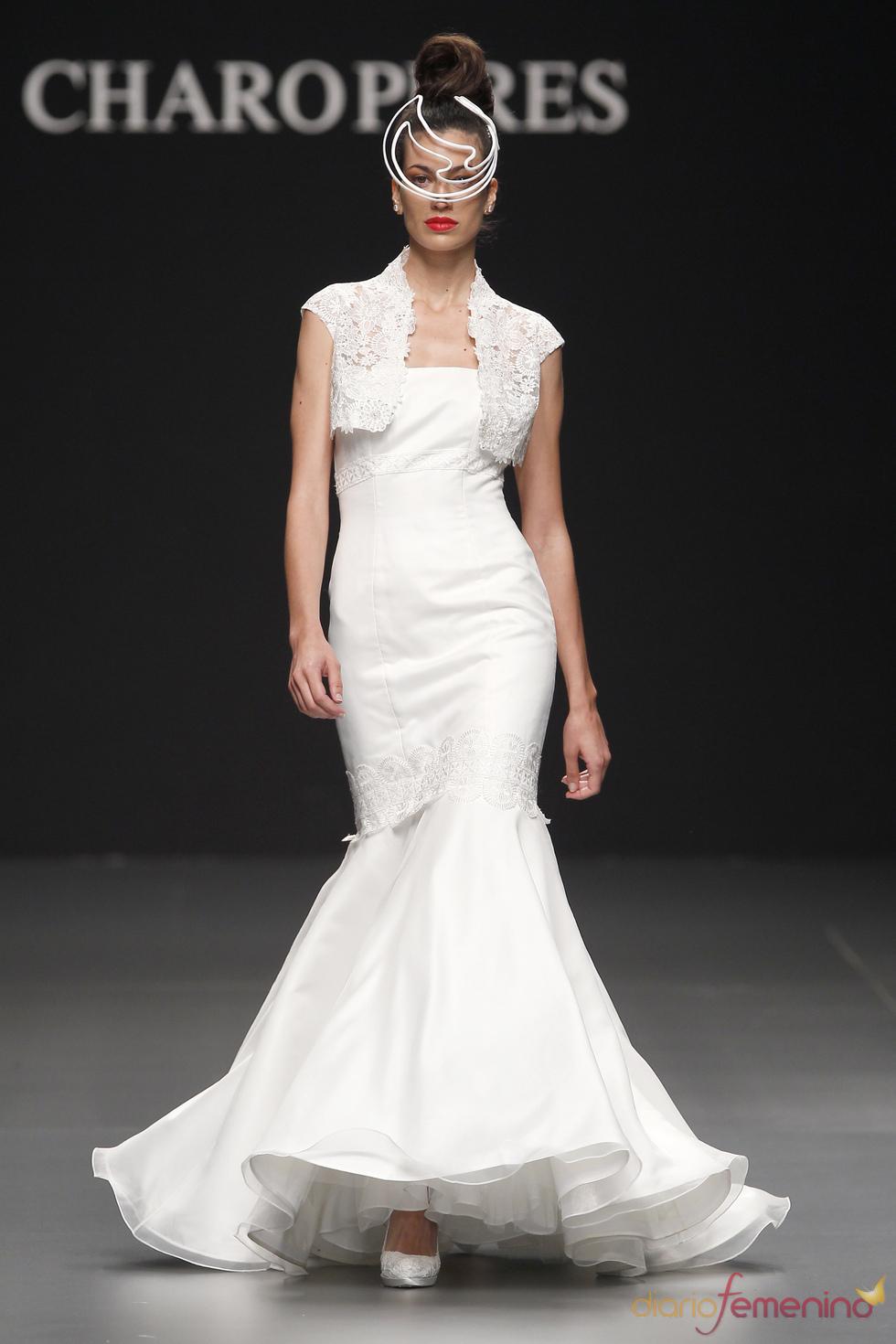 Vestido de novia de Charo Peres