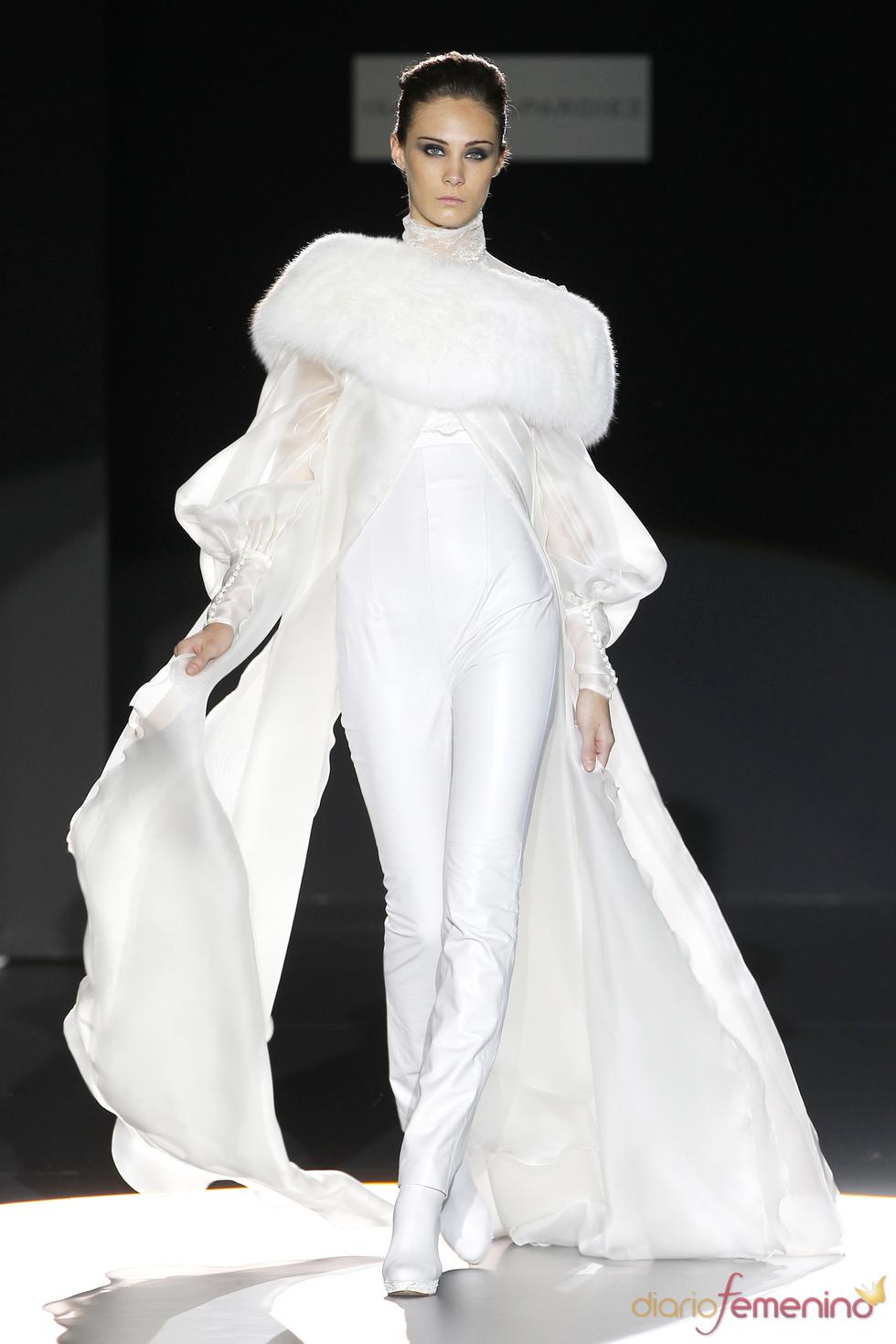 Vestido de novia de Isabel Zapardiez